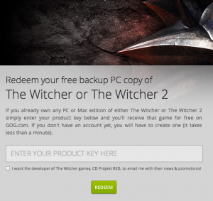 The Witcher 1&2 Backup