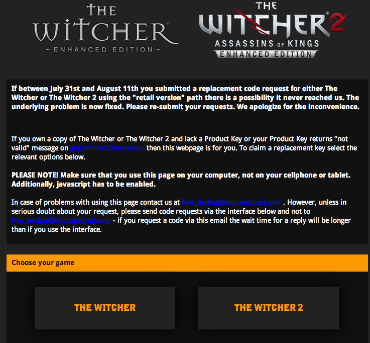 TheWitcher.com/backup