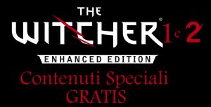 The Witcher 1 e 2 Contenuti Speciali Gratis