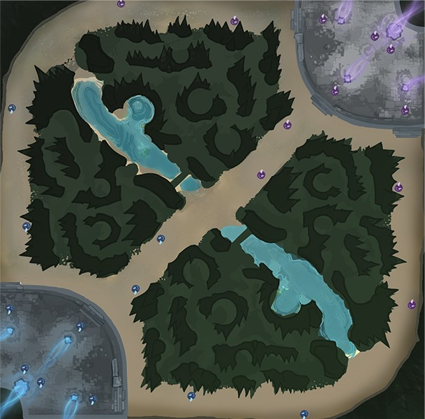 mappa Landa degli evocatori League of Legends