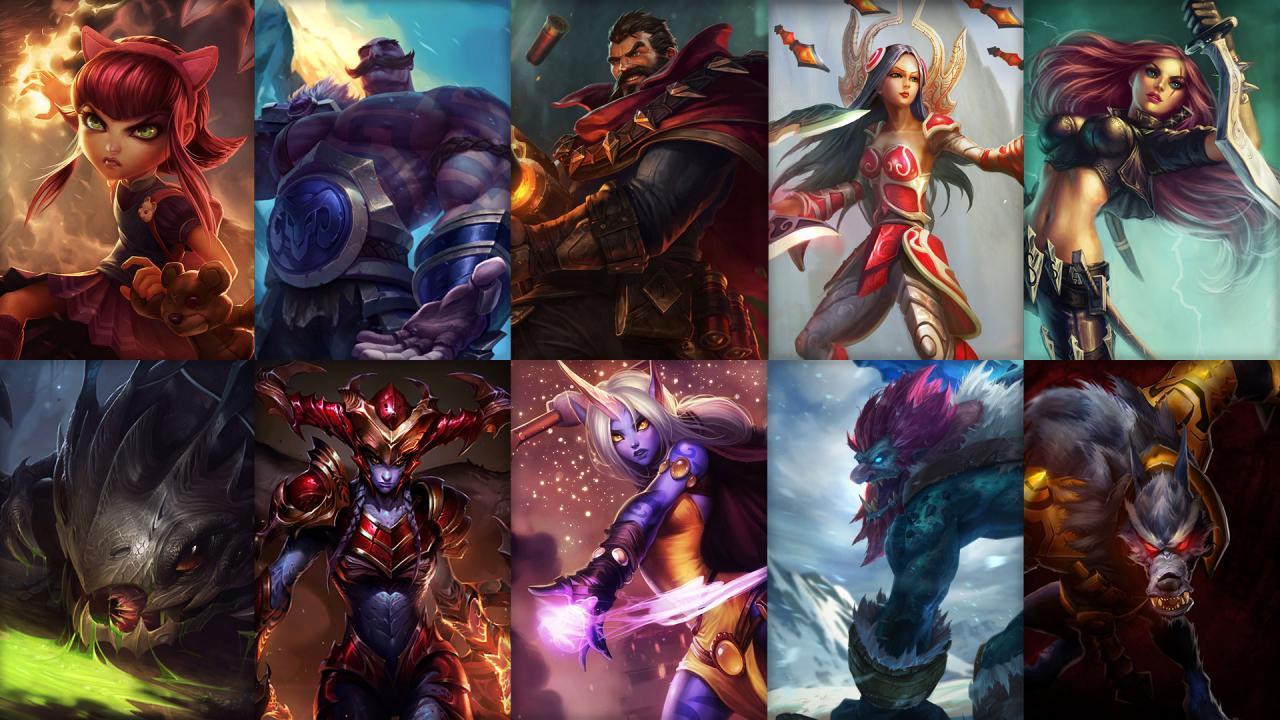 Campioni in Rotazione League of Legends (LoL) Settimana 2