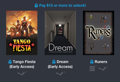 Pay more than 15 Humble Weekly Bundle: Mastertronic