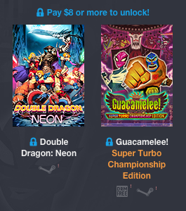 Humble Weekly Bundle BRAWLERS Pay more than 8$