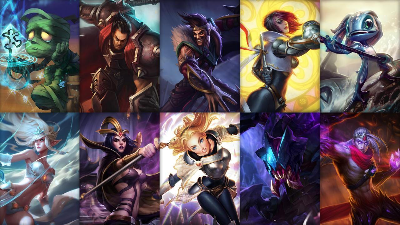 Campioni in Rotazione League of Legends (LoL) Settimana 1