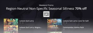 gog.com Weekend Promo: Region-Neutral Non-Specific Seasonal Sillines! 16/01/15 – 20/01/15