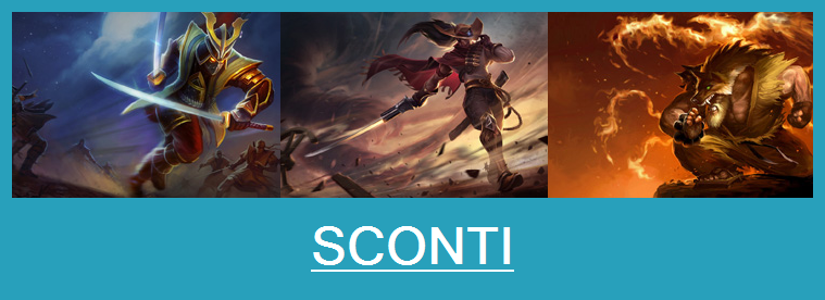 Aspetti in saldo League of Legends (LoL) 13/01/15 – 16/01/15