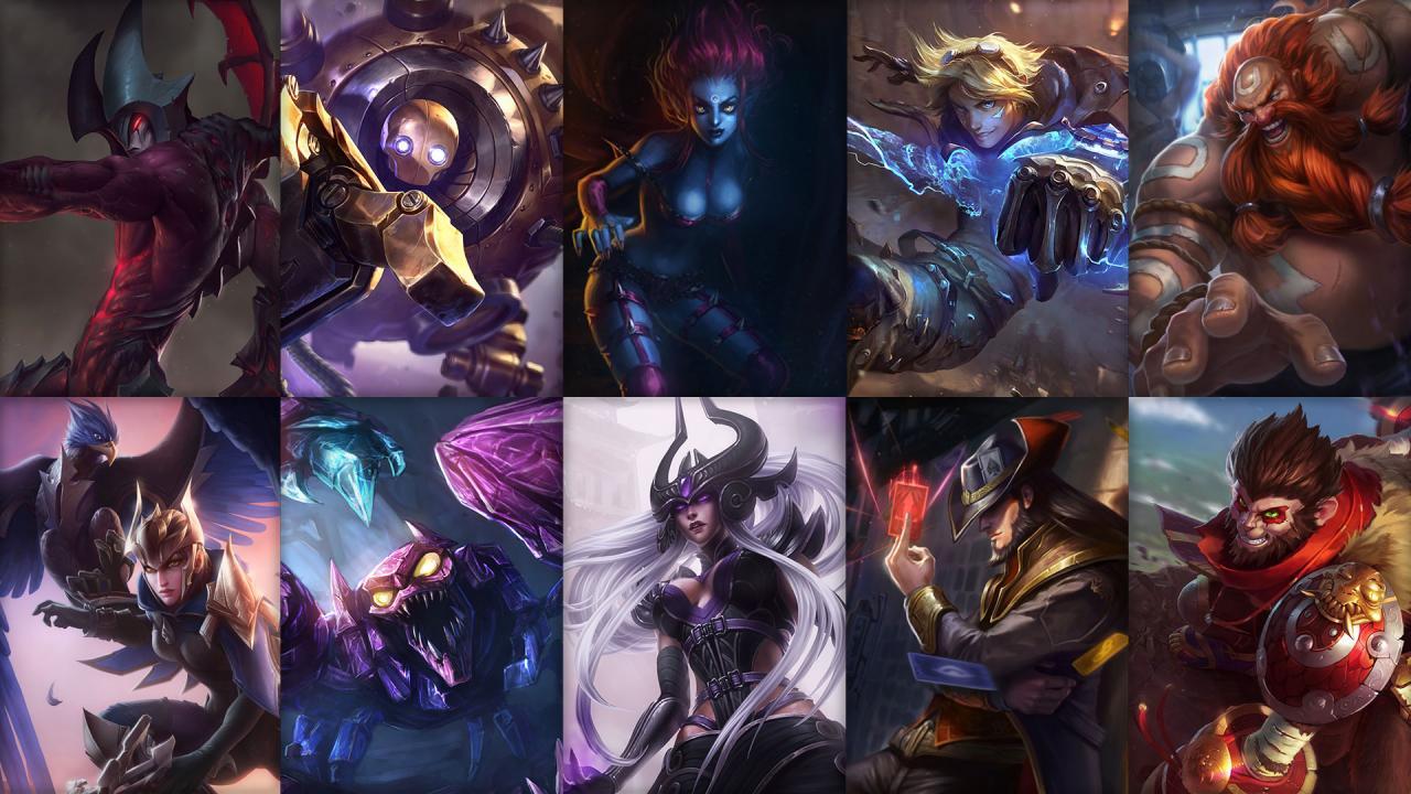 Campioni in Rotazione League of Legends (LoL) Settimana 7
