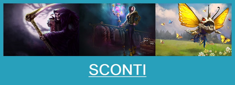 Aspetti in saldo League of Legends (LoL) 13/02/15 – 16/02/15
