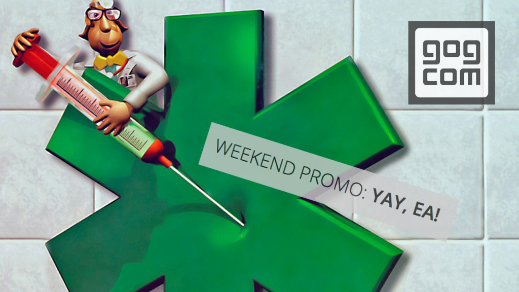 gog.com Weekend Promo: YAY, EA!
