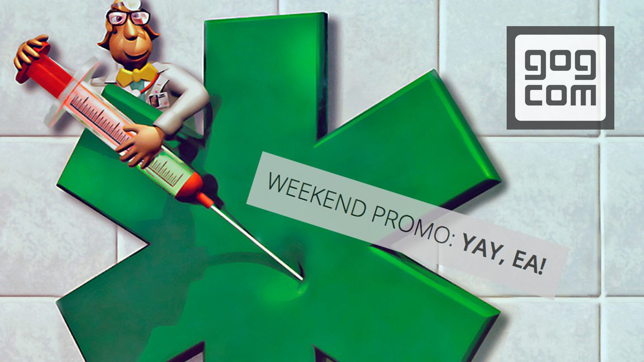 gog.com Weekend Promo: YAY, EA!