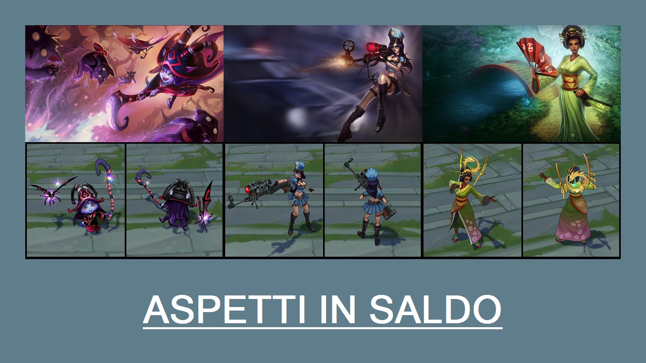 Aspetti in saldo League of Legends (LoL) 10/03/15 – 13/03/15