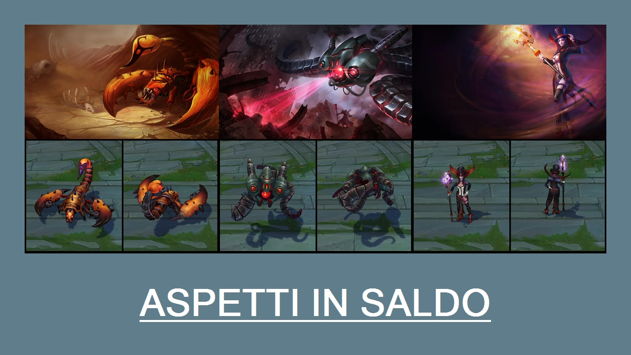 Aspetti in saldo League of Legends (LoL) 31/03/15 – 03/04/15