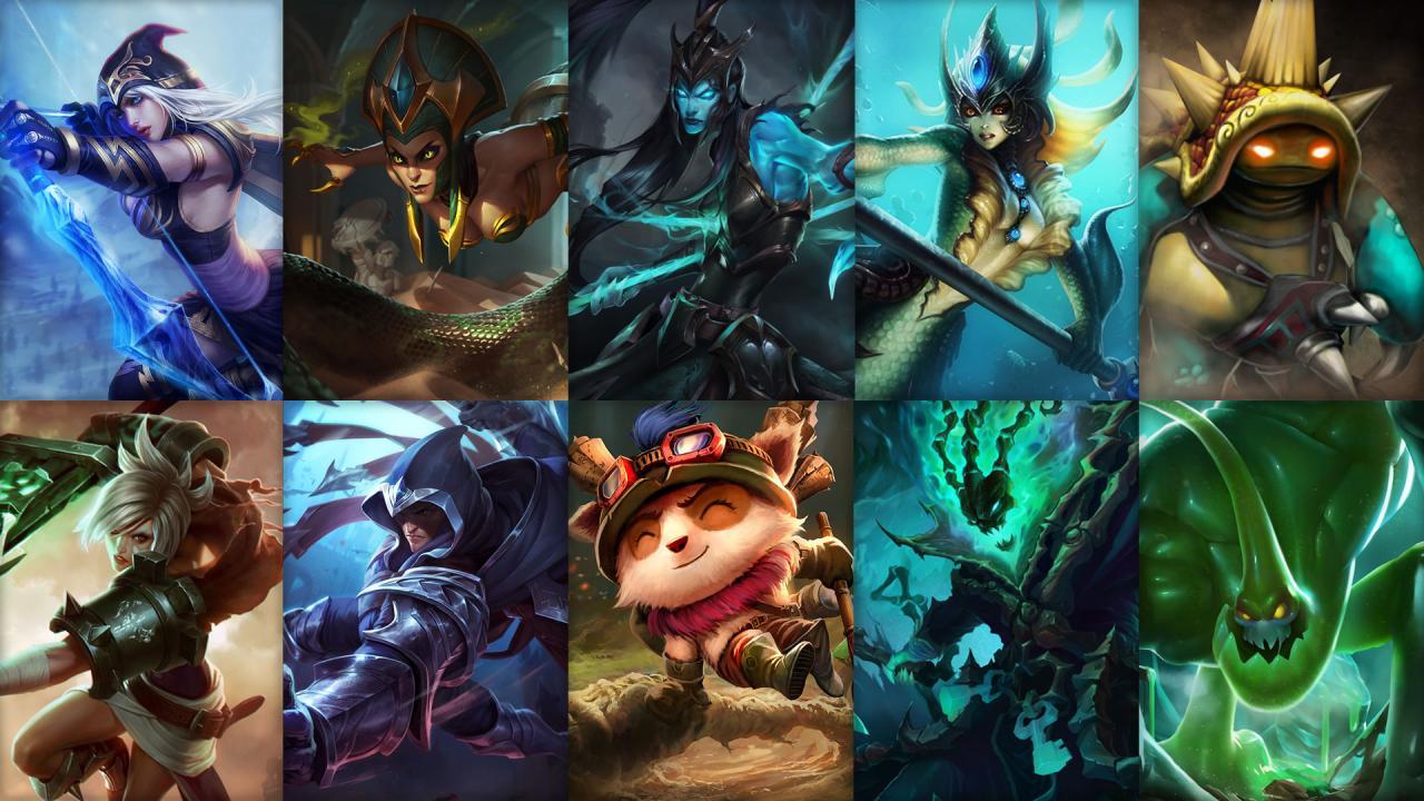 Campioni in Rotazione League of Legends (LoL) Settimana 10