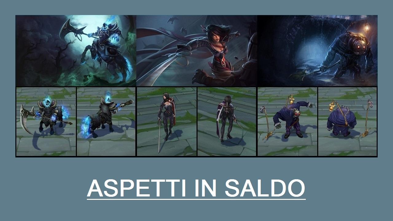 Aspetti in saldo League of Legends (LoL) 06/03/15 – 09/03/15