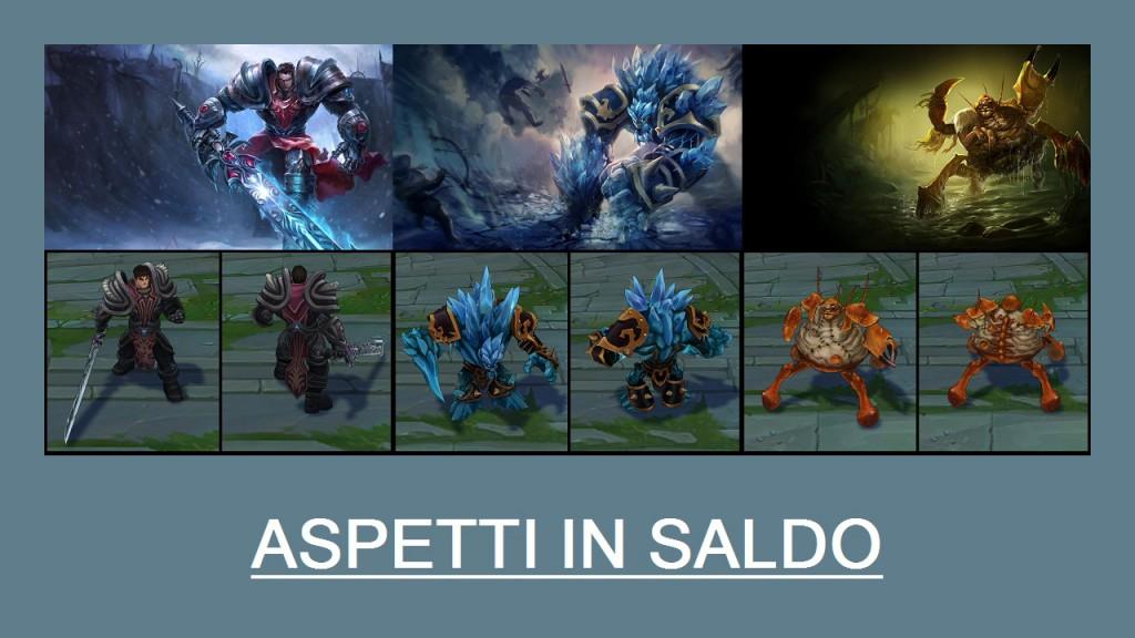 Aspetti in saldo League of Legends (LoL) 17/03/15 – 20/03/15