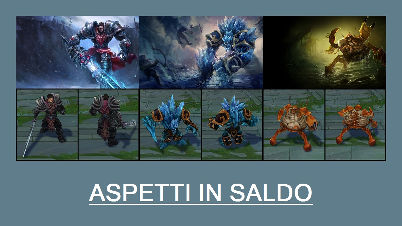 Aspetti in saldo League of Legends (LoL) 17/03/15 – 20/03/15