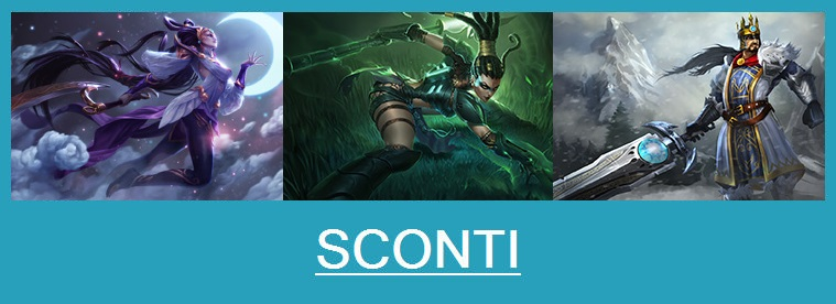 Aspetti in saldo League of Legends (LoL) 24/02/15 – 27/02/15