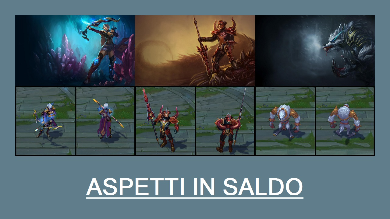 Aspetti in saldo League of Legends (LoL) 27/03/15 – 30/03/15
