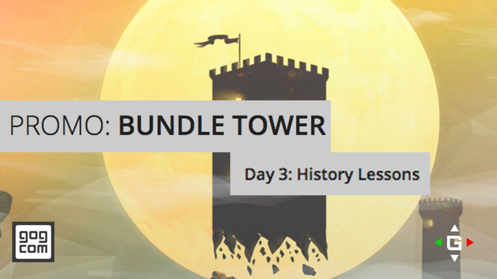 gog.com Bundle Tower Promo – History Lessons