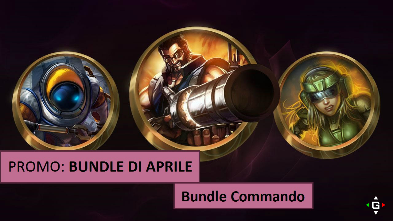 Bundle di Aprile – Skin in offerta Bundle Commando