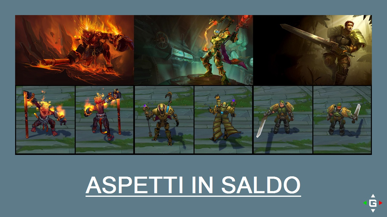 Aspetti in saldo League of Legends (LoL) 21/04/15 – 24/04/15