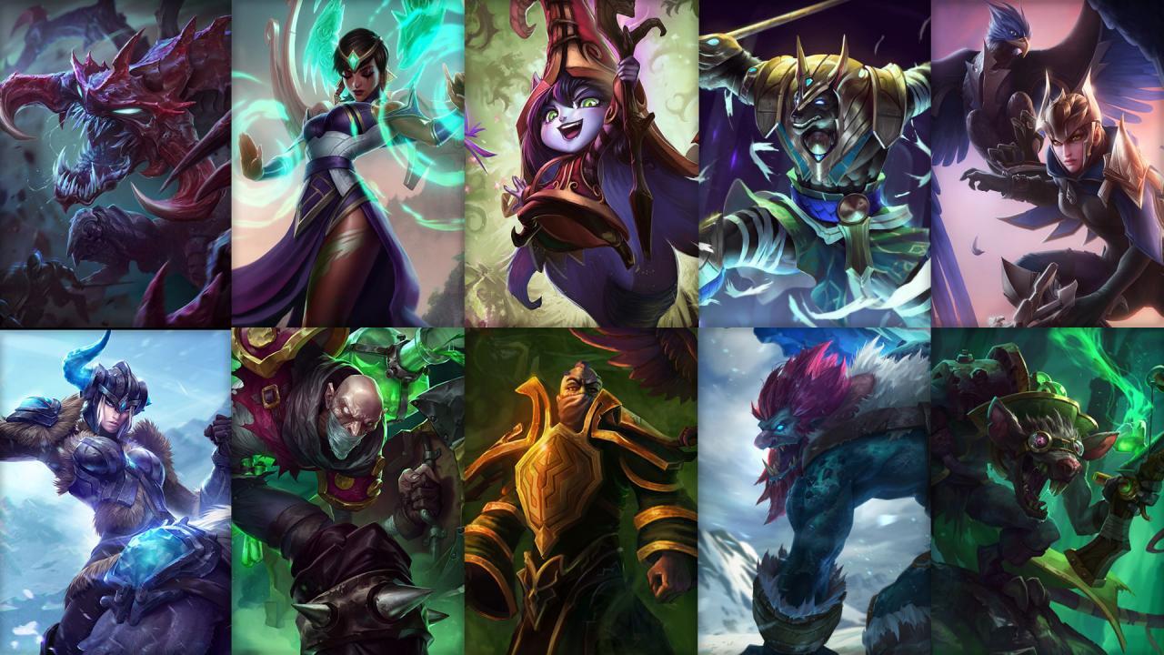 Campioni in Rotazione League of Legends (LoL) Settimana 14