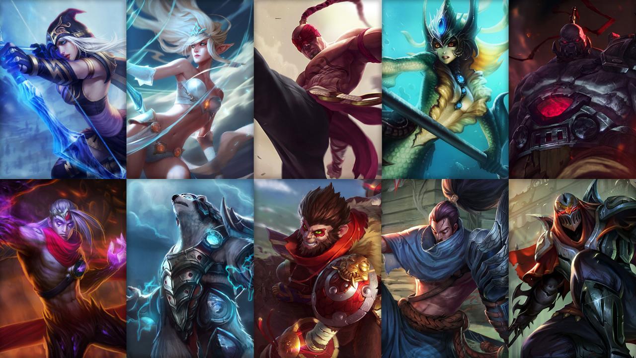 Campioni in Rotazione League of Legends (LoL) Settimana 17