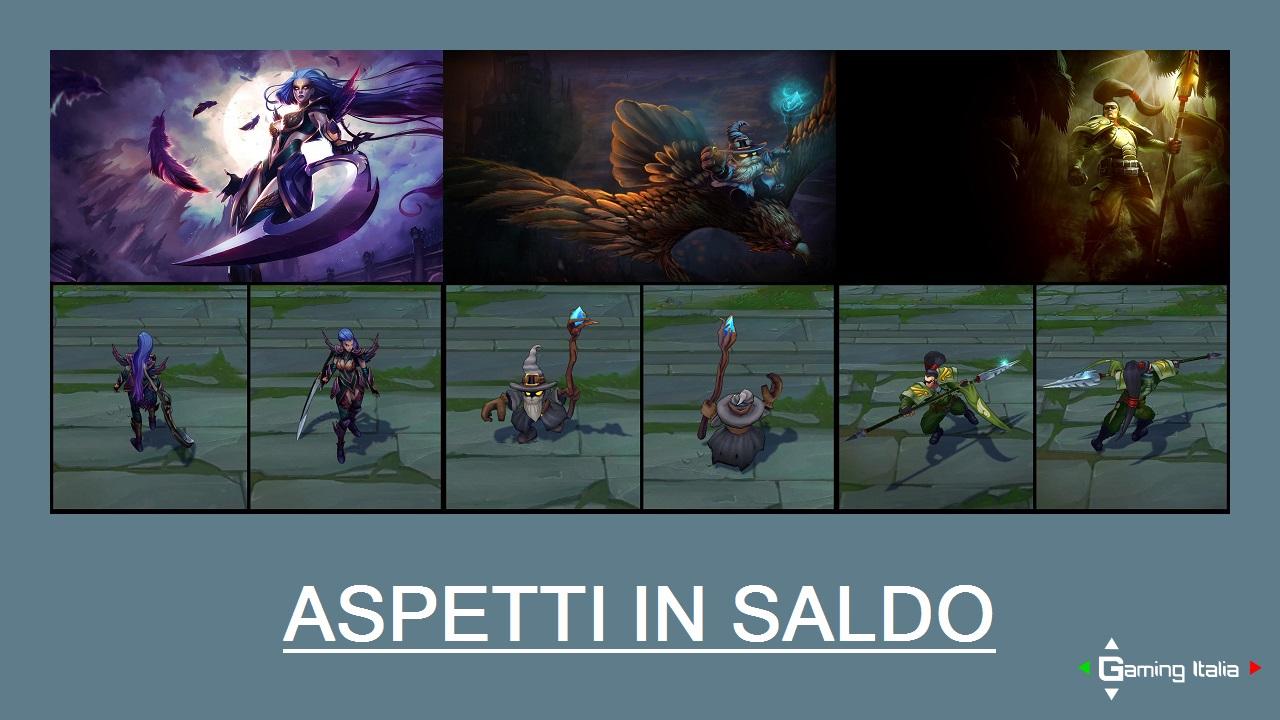 Aspetti in saldo League of Legends (LoL) 03/04/15 – 06/04/15