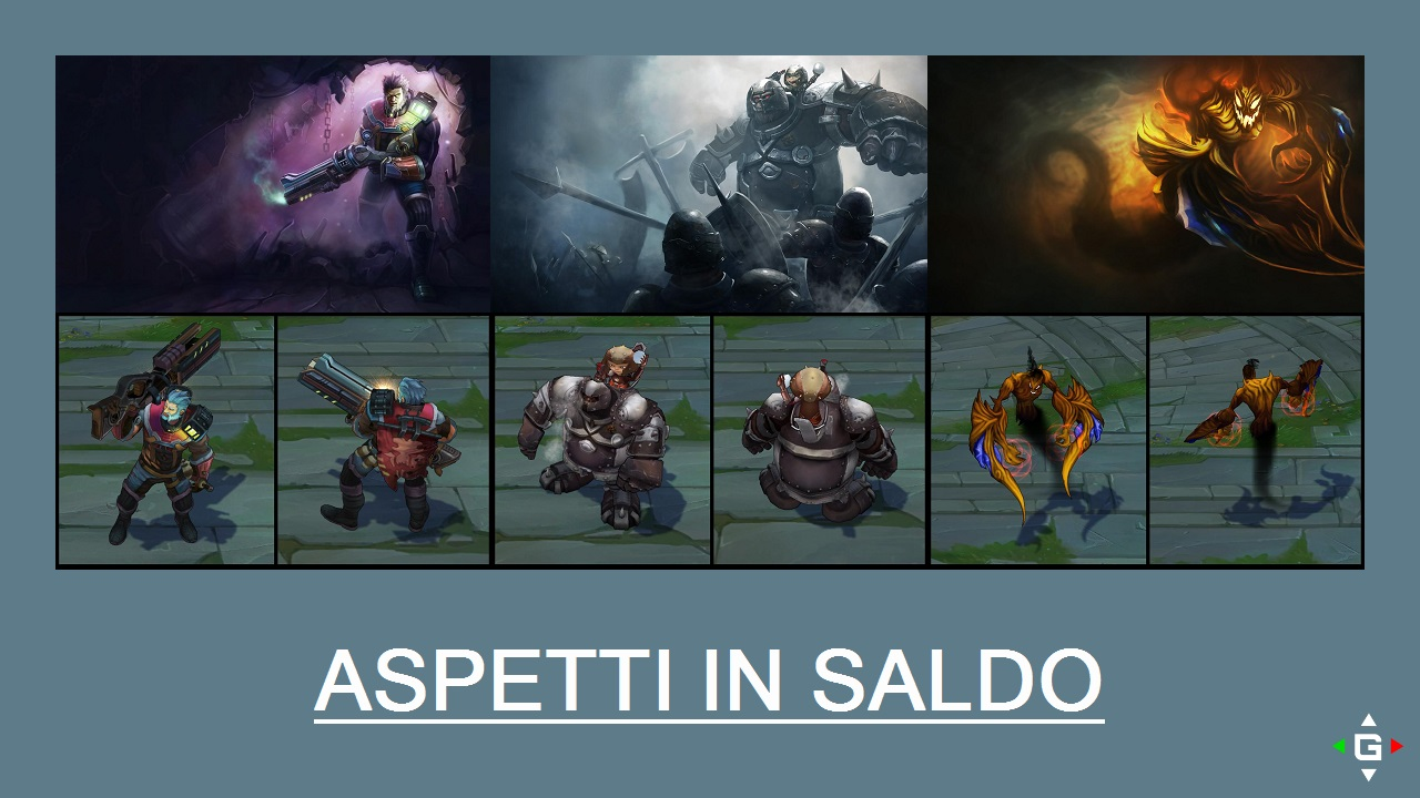 Aspetti in saldo League of Legends (LoL) 07/04/15 – 10/04/15