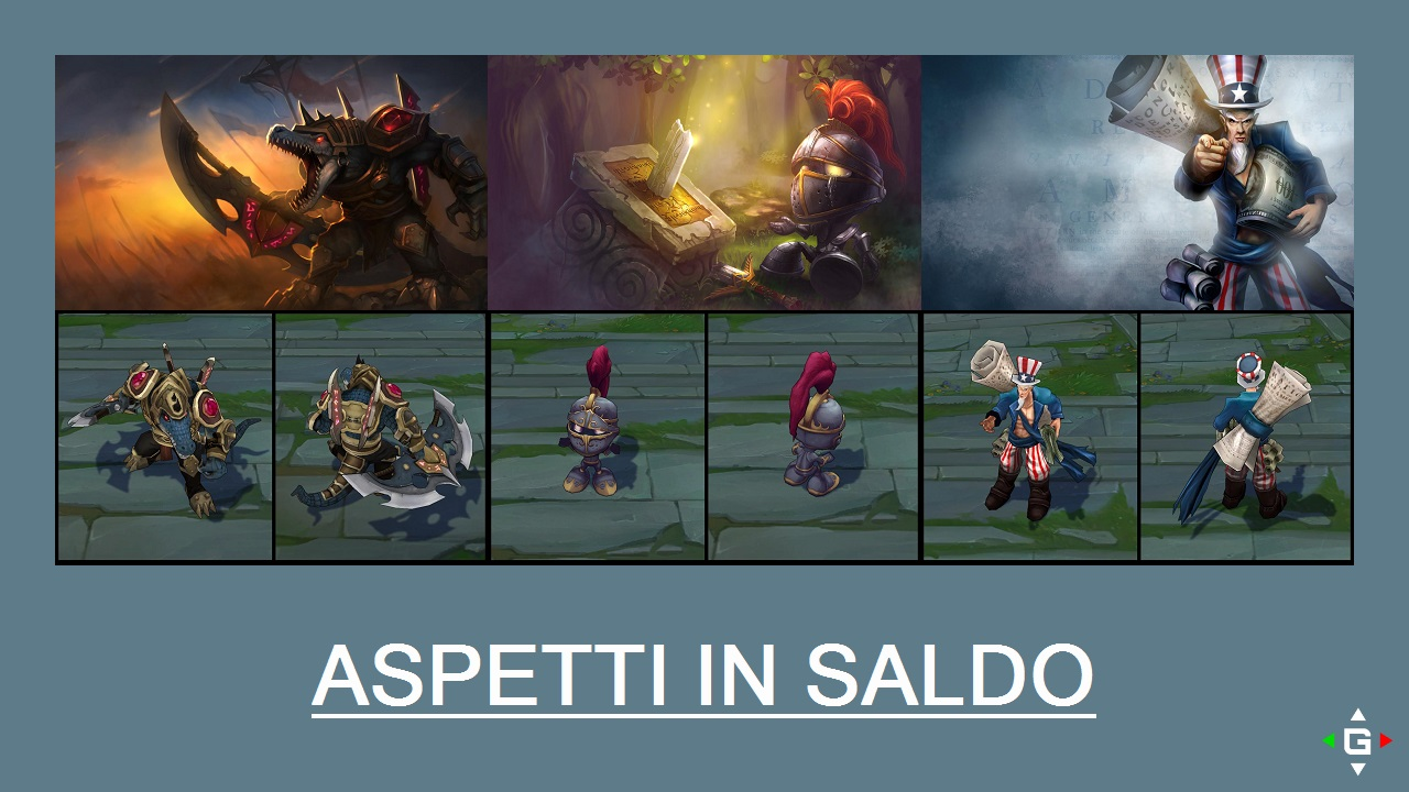 Aspetti in saldo League of Legends (LoL) 10/04/15 – 13/04/15