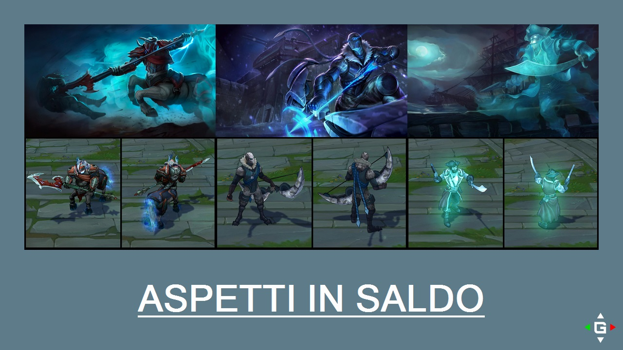 Aspetti in saldo League of Legends (LoL) 14/04/15 – 17/04/15