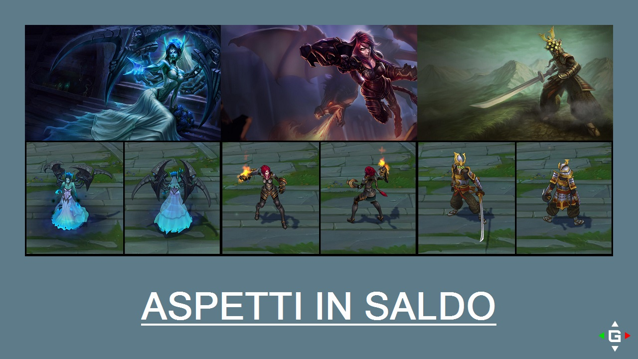 Aspetti in saldo League of Legends (LoL) 17/04/15 – 20/04/15