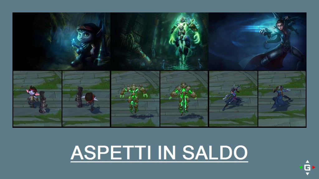 Aspetti in saldo League of Legends (LoL) 24/04/15 – 27/04/15