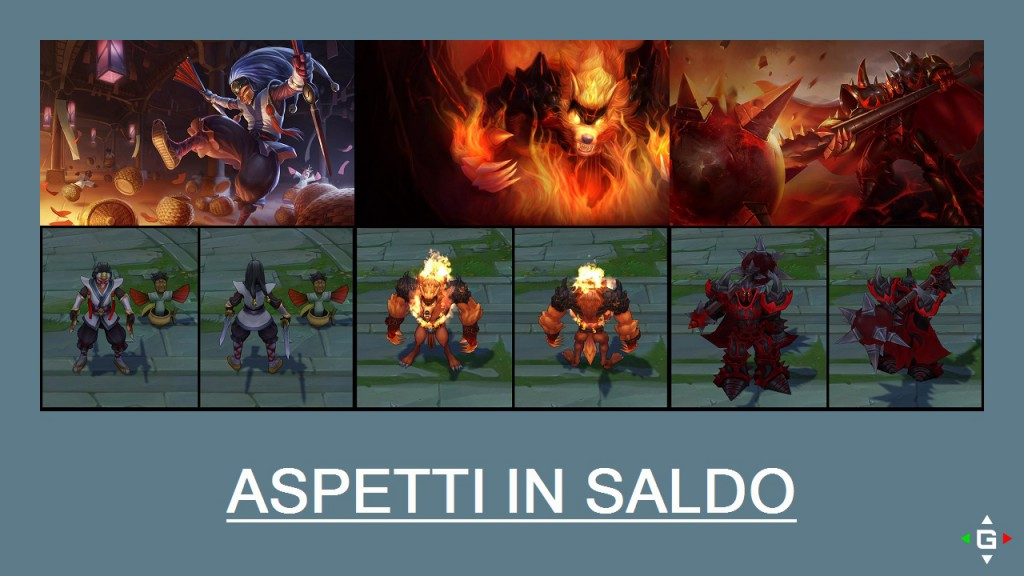 Aspetti in saldo League of Legends (LoL) 05/05/15 – 08/05/15