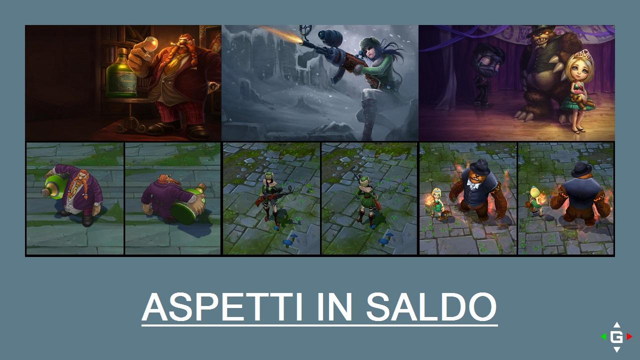 Aspetti in saldo League of Legends (LoL) 08/05/15 – 11/05/15