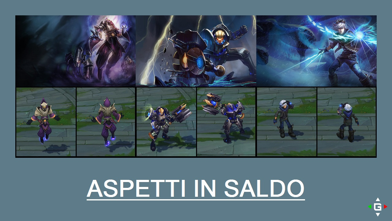Aspetti in saldo League of Legends (LoL) 12/05/15 – 15/05/15