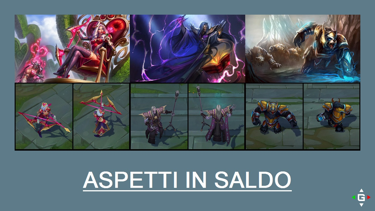 Aspetti in saldo League of Legends (LoL) 22/05/15 – 25/05/15