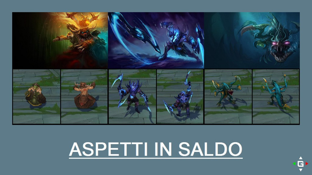 Aspetti in saldo League of Legends (LoL) 28/04/15 – 01/05/15