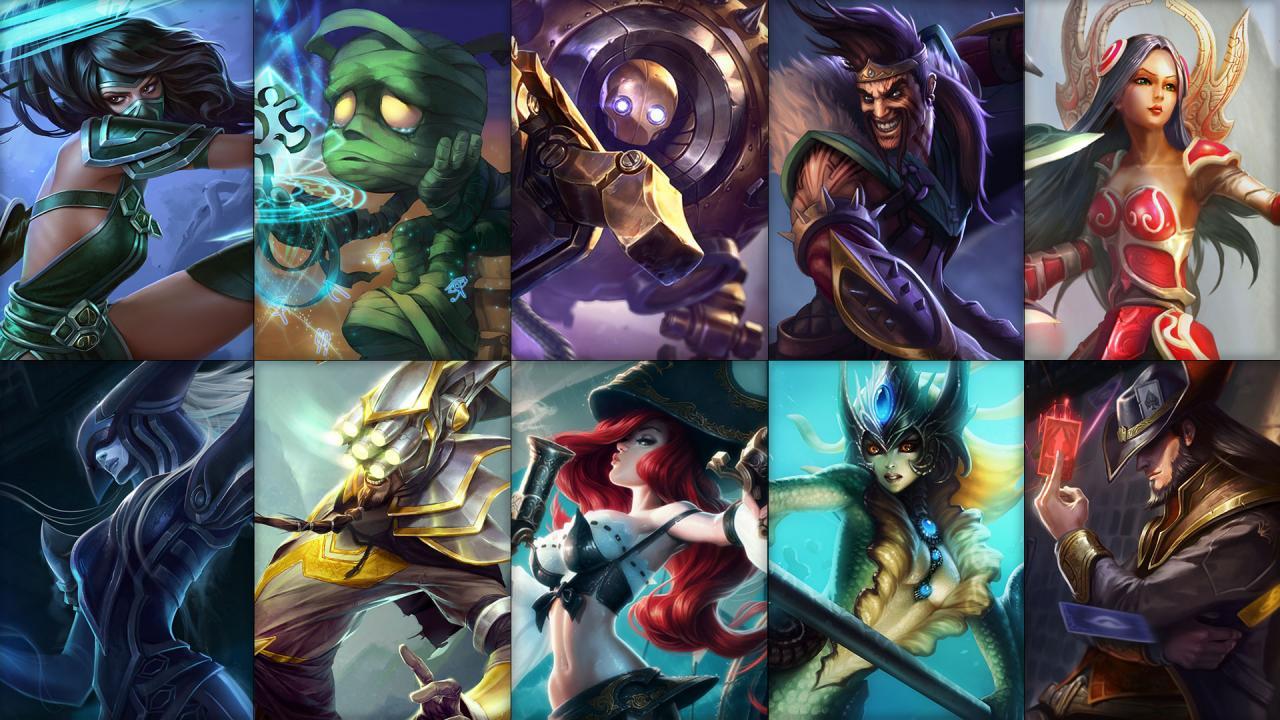 Campioni in Rotazione League of Legends (LoL) Settimana 24