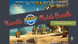 Humble Mobile Bundle NEOGEO Banner