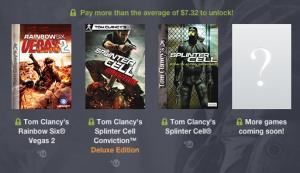 Humble Bundle Tom Clancy Average