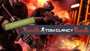 Humble Bundle Tom Clancy Banner