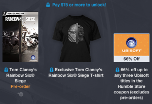 Humble Bundle Tom Clancy Maglietta