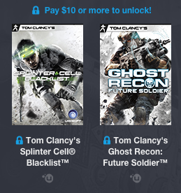 Humble Bundle Tom Clancy More