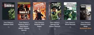 Humble Bundle Tom Clancy PWYW