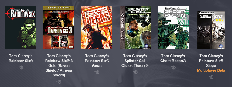 Humble Bundle Tom Clancy PWYW