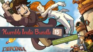 Humble Indie Bundle 15 Banner