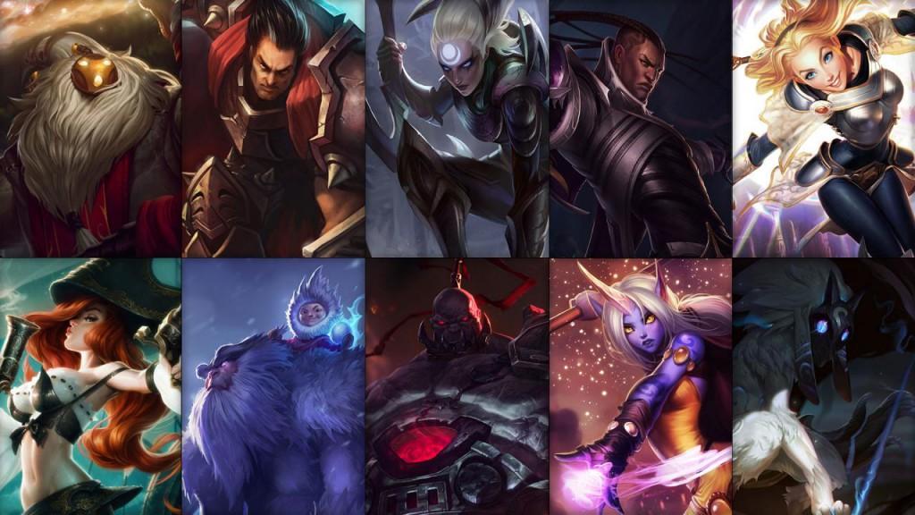 Campioni in Rotazione League of Legends settimana 44