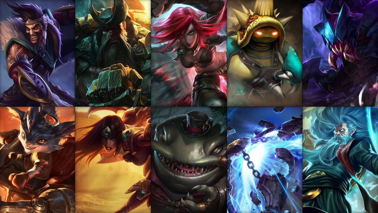 Campioni in Rotazione League of Legends settimana 45